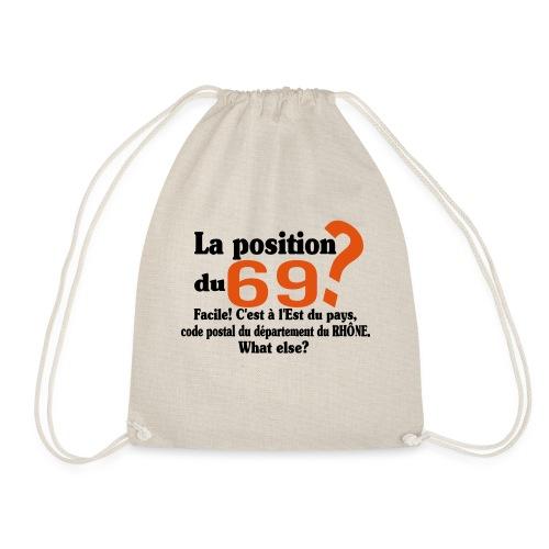 Département du 69 motif amusant et humoristique - Sac de sport léger
