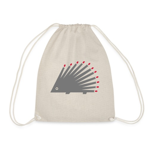 Hedgehog - Drawstring Bag