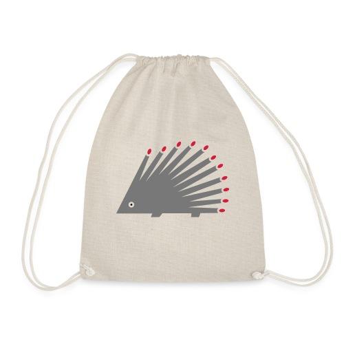 Hedgehog - Drawstring Bag