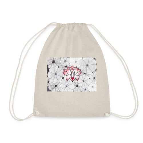 Lotus Heart - Sacca sportiva