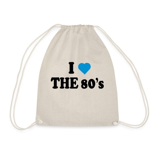 I love the 80's - Gymbag