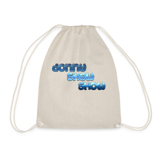 Donny shaw show logo - Drawstring Bag