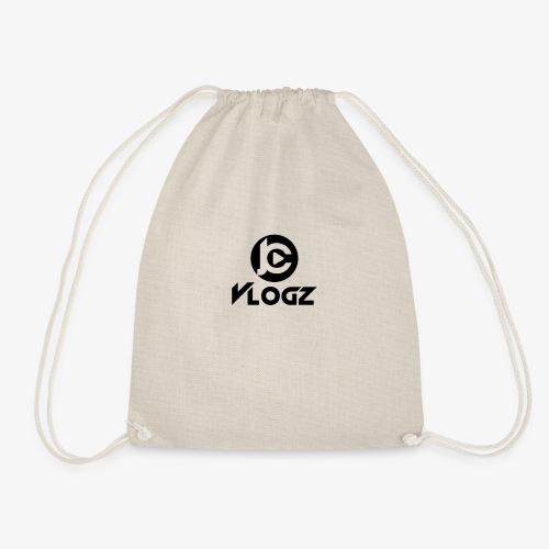 JC Vlogz Logo - Drawstring Bag
