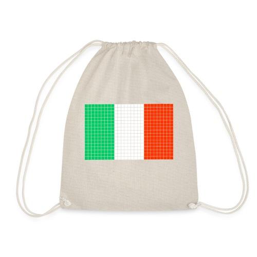 italian flag - Sacca sportiva