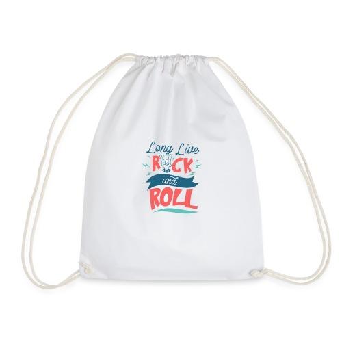 Long Live Rock & Roll - Drawstring Bag