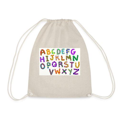 alphabet - Turnbeutel