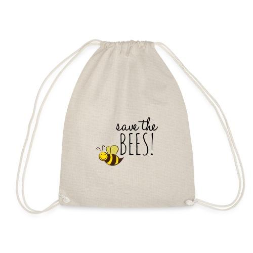 SAVE THE BEES! (Rettet die Bienen) - Turnbeutel