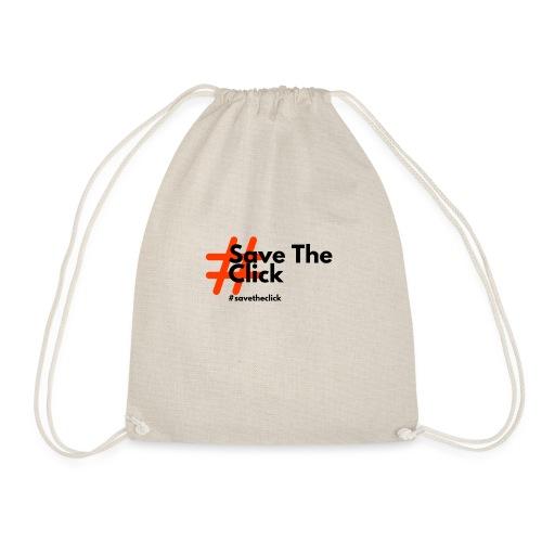SAVE THE CLICK - Sacca sportiva