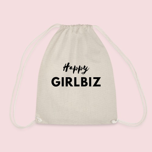 Happy GIRLBIZ - Turnbeutel