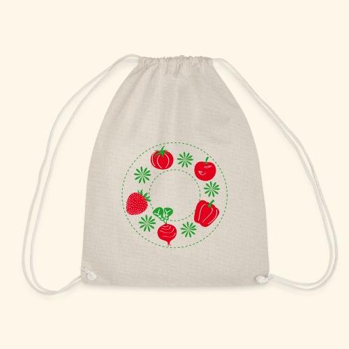 Frutos rojos del huerto - Mochila saco