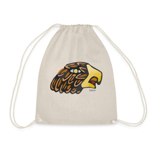 Aztec Icon Eagle - Drawstring Bag