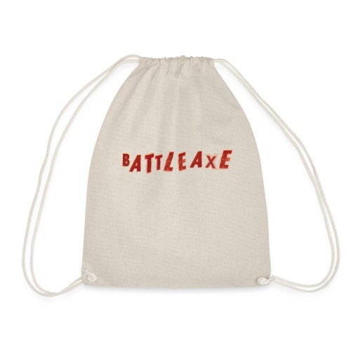 battle axe - Drawstring Bag