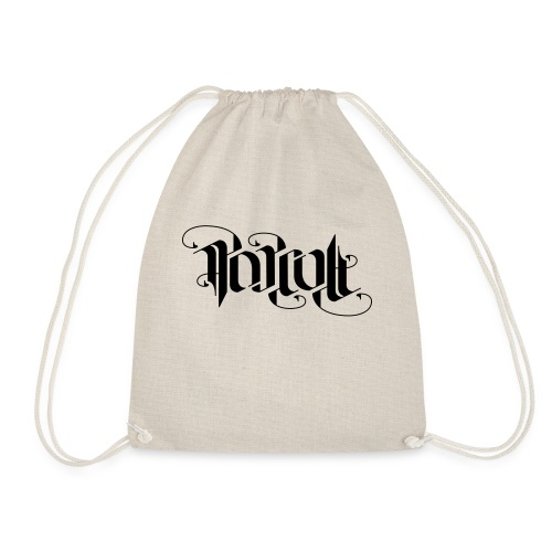 Popcu lt Ambigram - Drawstring Bag