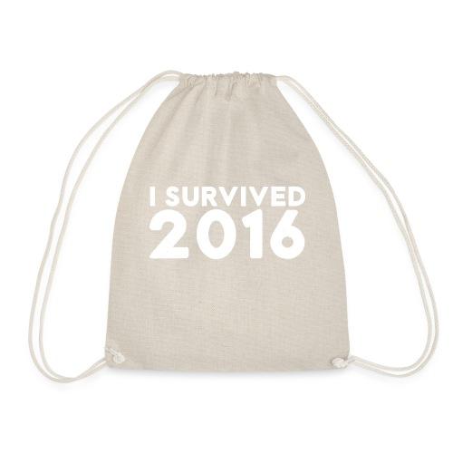 I SURVIVED 2016 - Drawstring Bag