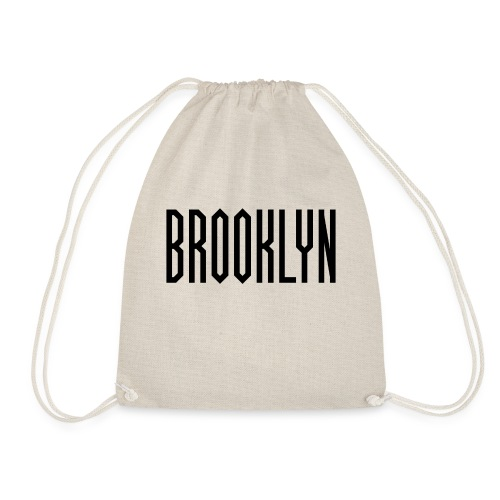 BROOKLYN Word Black - Sac de sport léger