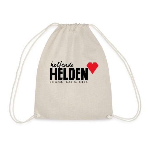 Helfende Helden Logo - Turnbeutel