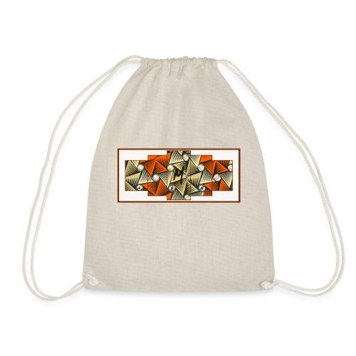 Abstract pattern - Drawstring Bag