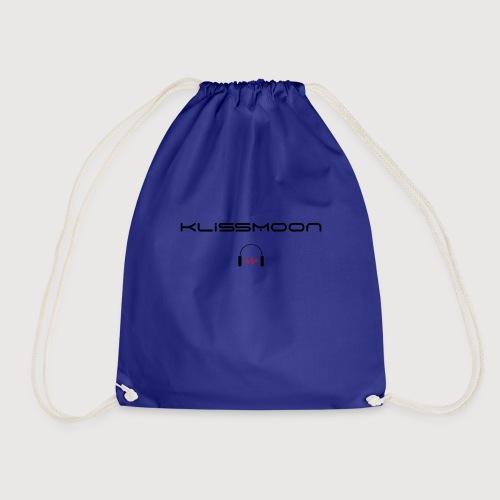 Klissmoon Logo black - Drawstring Bag