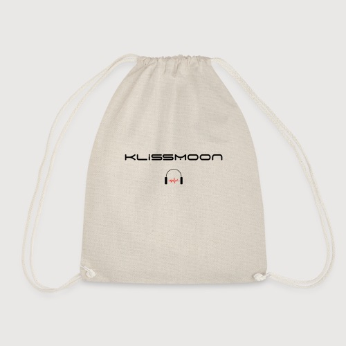 Klissmoon Logo black - Drawstring Bag