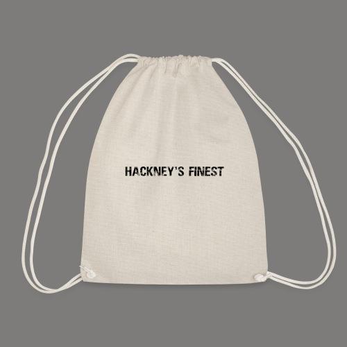 Main Titleblack png - Drawstring Bag