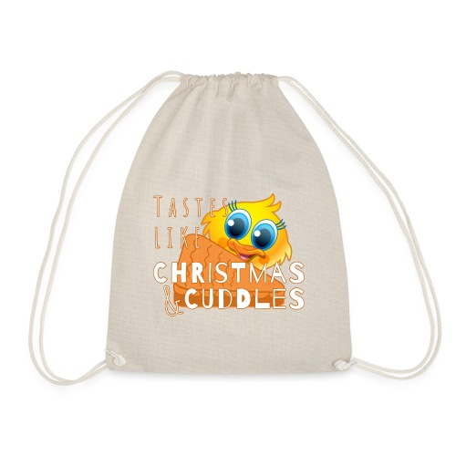 Christmas & Cuddles - Drawstring Bag