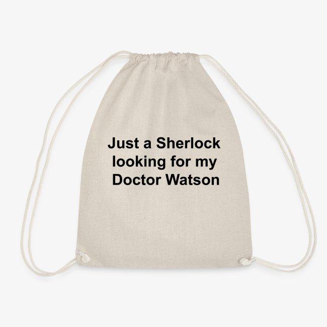 Funny Sherlock Holmes Slogan