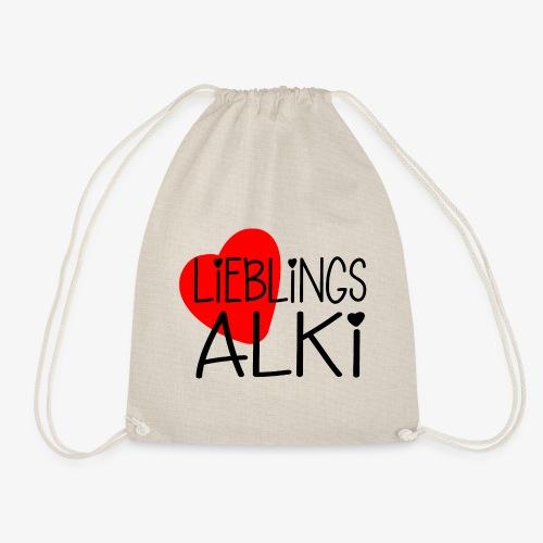 Lieblings-Alki Geschenkidee Valentinstag - Turnbeutel