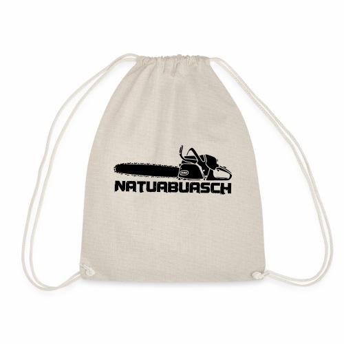 Natuabuasch Motorsäge - Turnbeutel