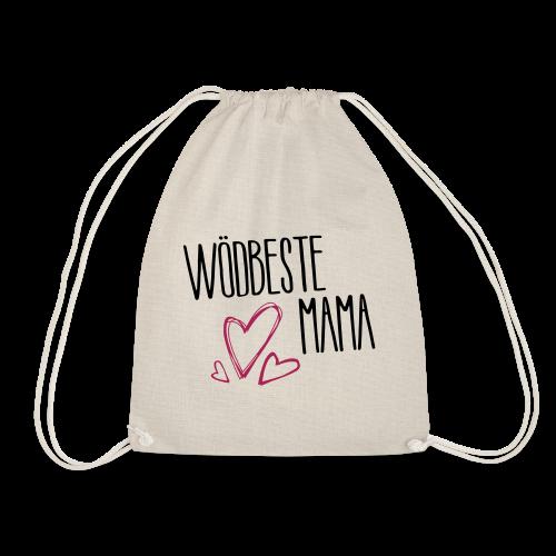 Wödbeste Mama - Turnbeutel