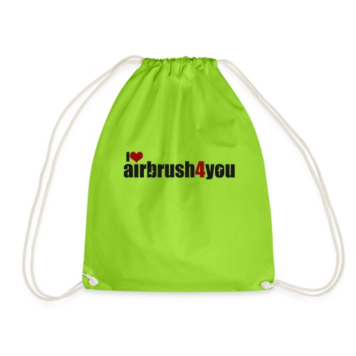 I Love airbrush4you - Turnbeutel
