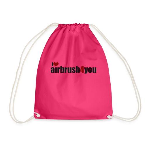 I Love airbrush4you - Turnbeutel