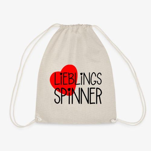 Lieblings-Spinner Geschenkidee Valentinstag - Turnbeutel