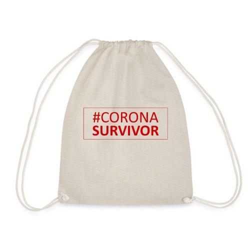 Corona Virus Survivor - Drawstring Bag