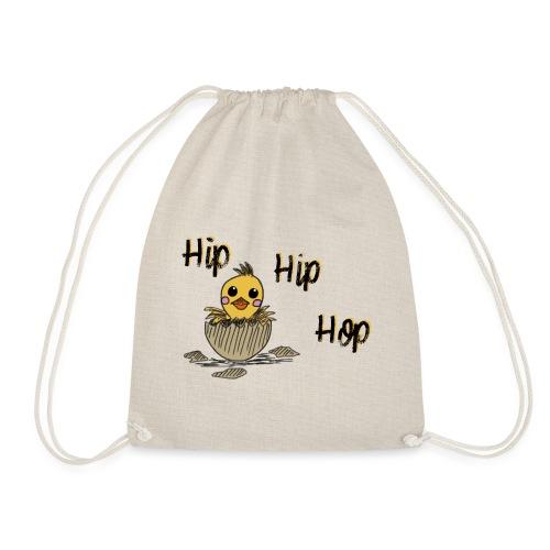 Küken Hip Hip Hop Ostern - Turnbeutel