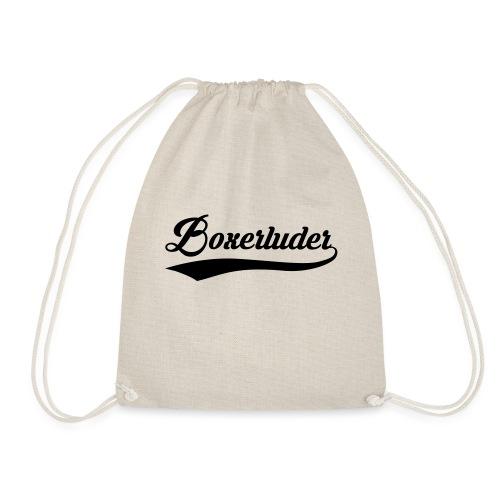 Motorrad Fahrer Shirt Boxerluder - Turnbeutel
