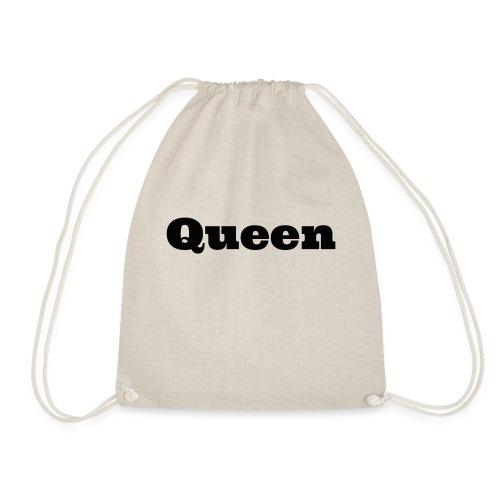 Snapback queen rood/zwart - Gymtas