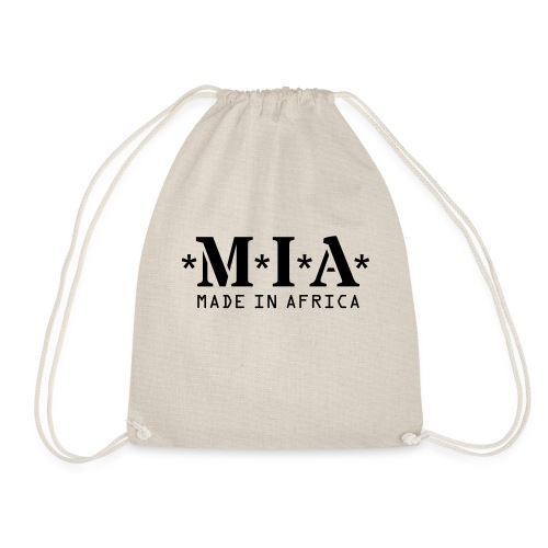 M.I.A. Made In Africa - Drawstring Bag