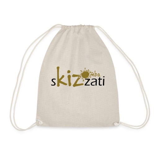 Beanie in jersey con logo sKizzati Kizomba - Verde - Sacca sportiva