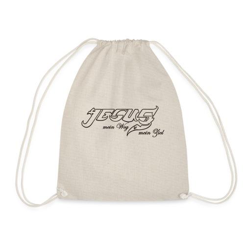 Jesus Weg und Ziel - Turnbeutel