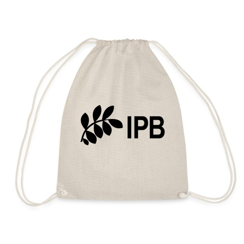 IPB version 3 black - Drawstring Bag