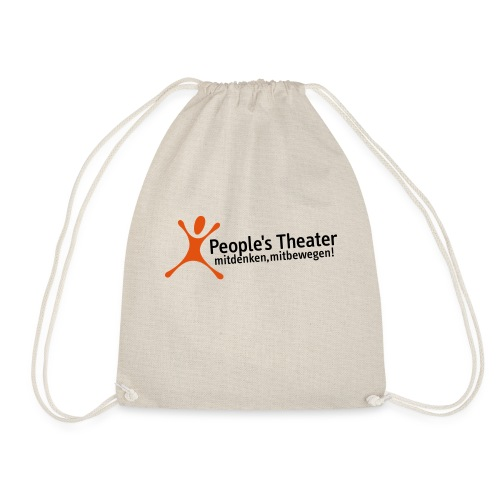 People's Theater Logo - Turnbeutel