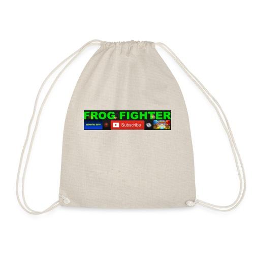 channel time - Drawstring Bag