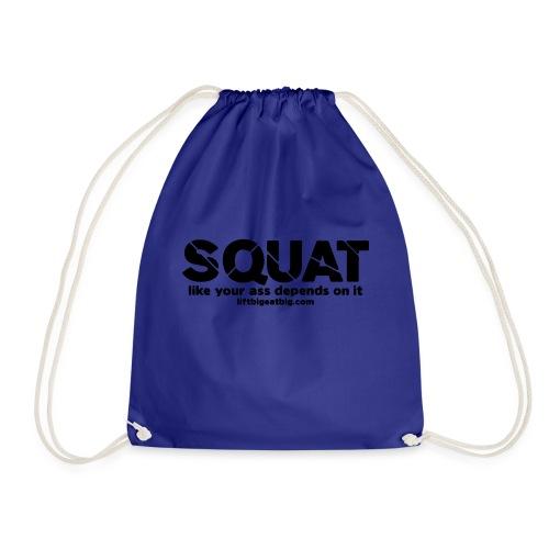 squat - Drawstring Bag