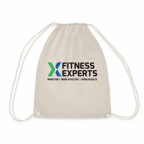Fitness Experts Logo - Drawstring Bag