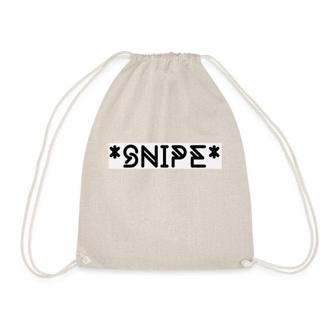 *SNIPE* Box Logo white