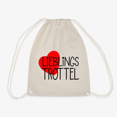 Lieblings-Trottel Geschenkidee Valentinstag - Turnbeutel