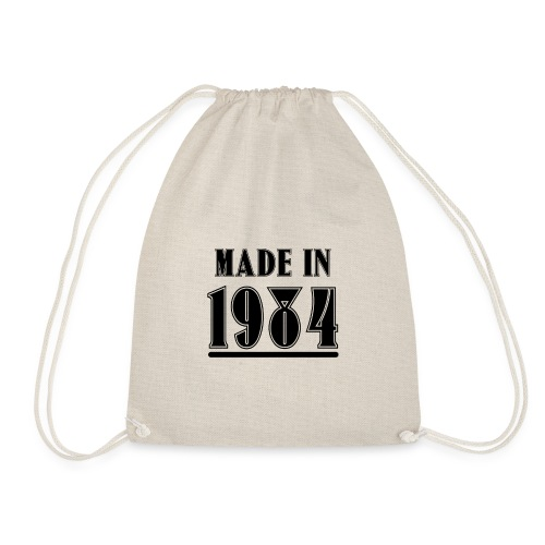 MADE IN 1984 - Turnbeutel