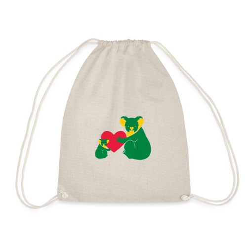 Koala Heart Baby - Drawstring Bag