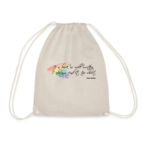 It's always too short... - Drawstring Bag