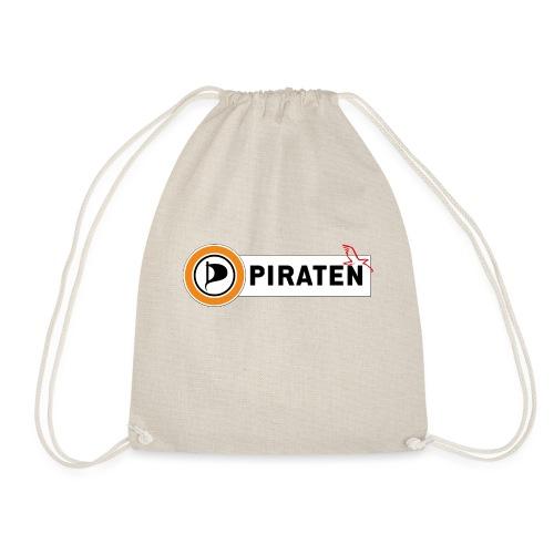 Piraten Logo - Turnbeutel
